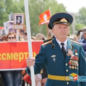 В Новопавловске отметили 74-ую годовщину Великой Победы (фото 7)