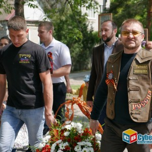 В Новопавловске отметили 74-ую годовщину Великой Победы (фото 2)