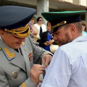 В честь 101-ой годовщины пограничных войск в Новопавловске поздравили ветеранов этой службы (фото 8)