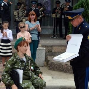 В честь 101-ой годовщины пограничных войск в Новопавловске поздравили ветеранов этой службы (фото 9)