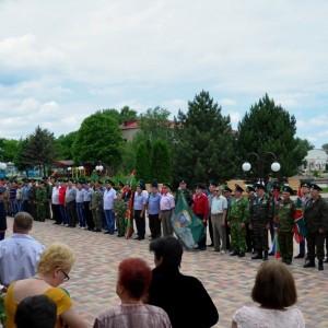 В честь 101-ой годовщины пограничных войск в Новопавловске поздравили ветеранов этой службы (фото 3)