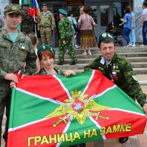 В честь 101-ой годовщины пограничных войск в Новопавловске поздравили ветеранов этой службы