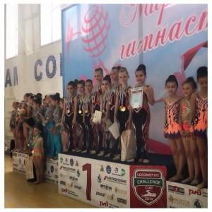 Наши юные гимнастки вернулись с наградами из города Нальчик
