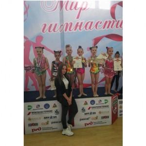 Наши юные гимнастки вернулись с наградами из города Нальчик (фото 5)