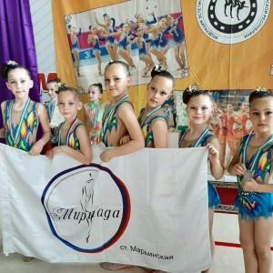 Наши юные гимнастки вернулись с наградами из города Нальчик (фото 2)