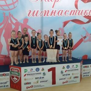 Наши юные гимнастки вернулись с наградами из города Нальчик (фото 3)