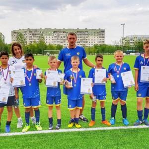 Юные футболисты Новопавловска стали бронзовыми призёрами в Невинномысске (фото 2)