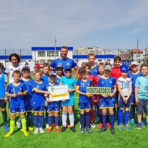 Юные футболисты Новопавловска стали бронзовыми призёрами в Невинномысске