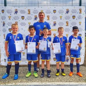 Юные футболисты Новопавловска стали бронзовыми призёрами в Невинномысске (фото 5)