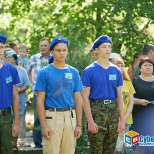 На митинге в Новопавловске почтили память ветеранов боевых действий (фото 11)