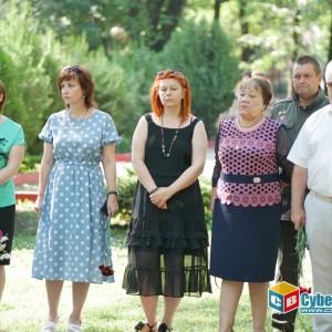 На митинге в Новопавловске почтили память ветеранов боевых действий (фото 4)