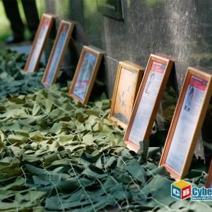 На митинге в Новопавловске почтили память ветеранов боевых действий (фото 9)