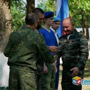 На митинге в Новопавловске почтили память ветеранов боевых действий (фото 25)