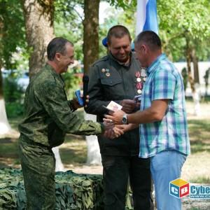 На митинге в Новопавловске почтили память ветеранов боевых действий (фото 24)