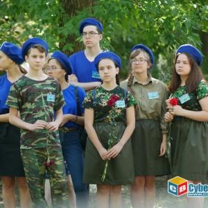 На митинге в Новопавловске почтили память ветеранов боевых действий (фото 6)