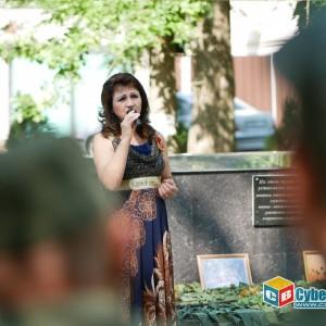 На митинге в Новопавловске почтили память ветеранов боевых действий (фото 19)