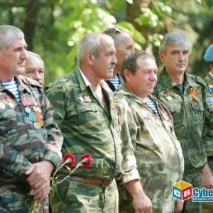 На митинге в Новопавловске почтили память ветеранов боевых действий (фото 8)