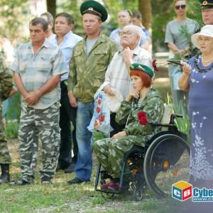 На митинге в Новопавловске почтили память ветеранов боевых действий (фото 12)