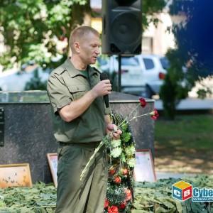 На митинге в Новопавловске почтили память ветеранов боевых действий (фото 15)