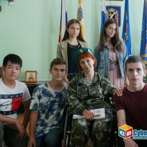 На митинге в Новопавловске почтили память ветеранов боевых действий (фото 26)