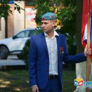 На митинге в Новопавловске почтили память ветеранов боевых действий (фото 3)