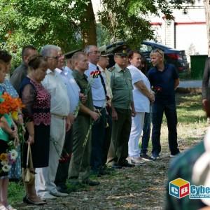 На митинге в Новопавловске почтили память ветеранов боевых действий (фото 20)