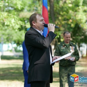 На митинге в Новопавловске почтили память ветеранов боевых действий (фото 14)