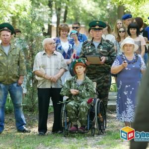 На митинге в Новопавловске почтили память ветеранов боевых действий (фото 17)