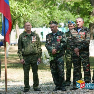 На митинге в Новопавловске почтили память ветеранов боевых действий (фото 18)