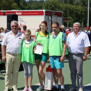 В честь дня физкультурника в Новопавловске прошла спартакиада сельских поселений (фото 1)