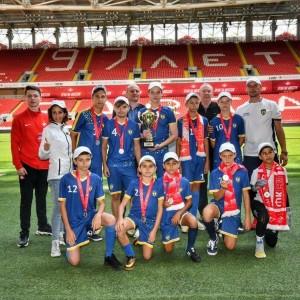 Юные футболисты Новопавловска стали серебряными призёрами на соревнованиях в Москве