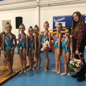 Гимнастки Новопавловска и Марьинской стали призёрами в Открытом Первенстве в городе Кропоткин