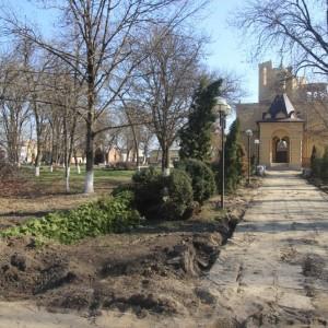 В Новопавловске начаты работы по благоустройству Культурно-исторического центра города