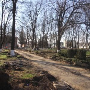В Новопавловске начаты работы по благоустройству Культурно-исторического центра города (фото 6)