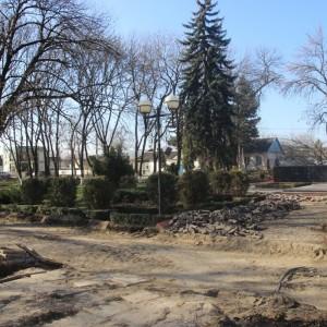 В Новопавловске начаты работы по благоустройству Культурно-исторического центра города (фото 2)