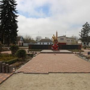 Работа по благоустройству культурно-исторического центра города Новопавловска выполнена на четверть (фото 5)
