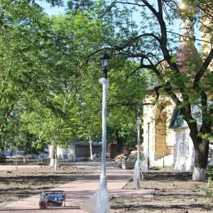 К осени обновлённый парк в Новопавловске станет точкой притяжения горожан (фото 4)