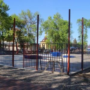 К осени обновлённый парк в Новопавловске станет точкой притяжения горожан (фото 2)