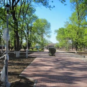 К осени обновлённый парк в Новопавловске станет точкой притяжения горожан (фото 1)