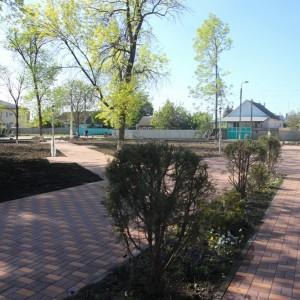 К осени обновлённый парк в Новопавловске станет точкой притяжения горожан (фото 8)