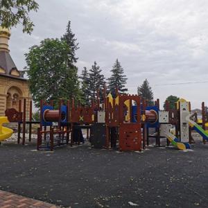 Более половины работ выполнено по реконструкции культурно-исторического центра Новопавловска (фото 1)