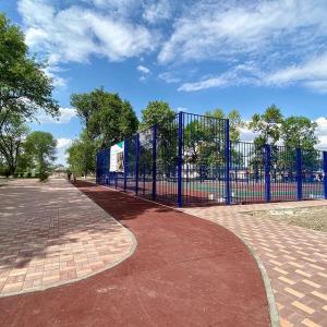 Работы по благоустройству центра Новопавловска вступили в финальную стадию (фото 2)