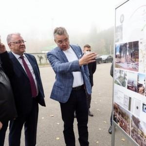 Губернатор Ставропольского края обсудил проект по созданию парковой зоны в Новопавловске