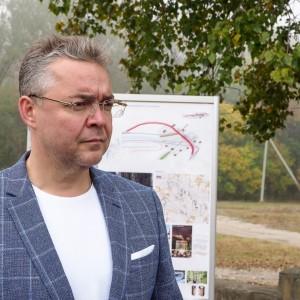 Губернатор Ставропольского края обсудил проект по созданию парковой зоны в Новопавловске (фото 4)