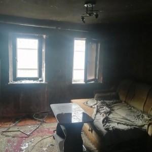 Семья из Новопавловска осталась без дома из-за пожара (фото 1)