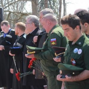 В Новопавловске открыли памятник казакам-основателям станицы Новопавловской