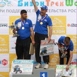 Победитель тракторного многоборья