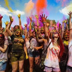 Всероссийский фестиваль красок (фото 1)