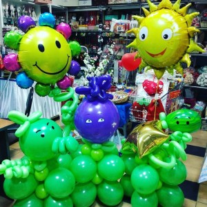 Изделия и подарки из шаров