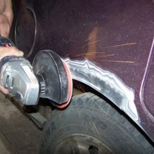 Сварочные работы легкового авто (фото 4)